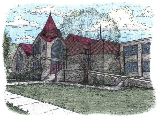 New Main Entrance Rendering