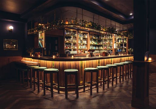 Merit Award, Lounge/Nightclub + People's Choice Award: Bar Henry (Los Angeles, California.) Designed by: Aero Collective. Photo: Brett Rubin.