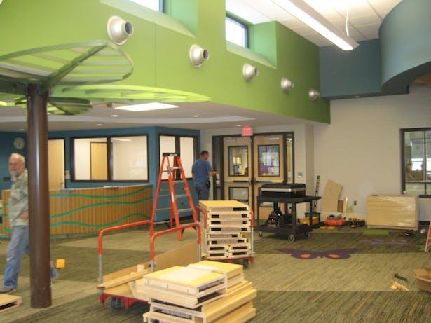 Media Center Construction