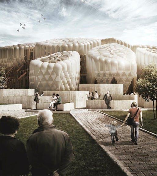 Image credit: Federico Fauli, courtesy of MAD Architects.