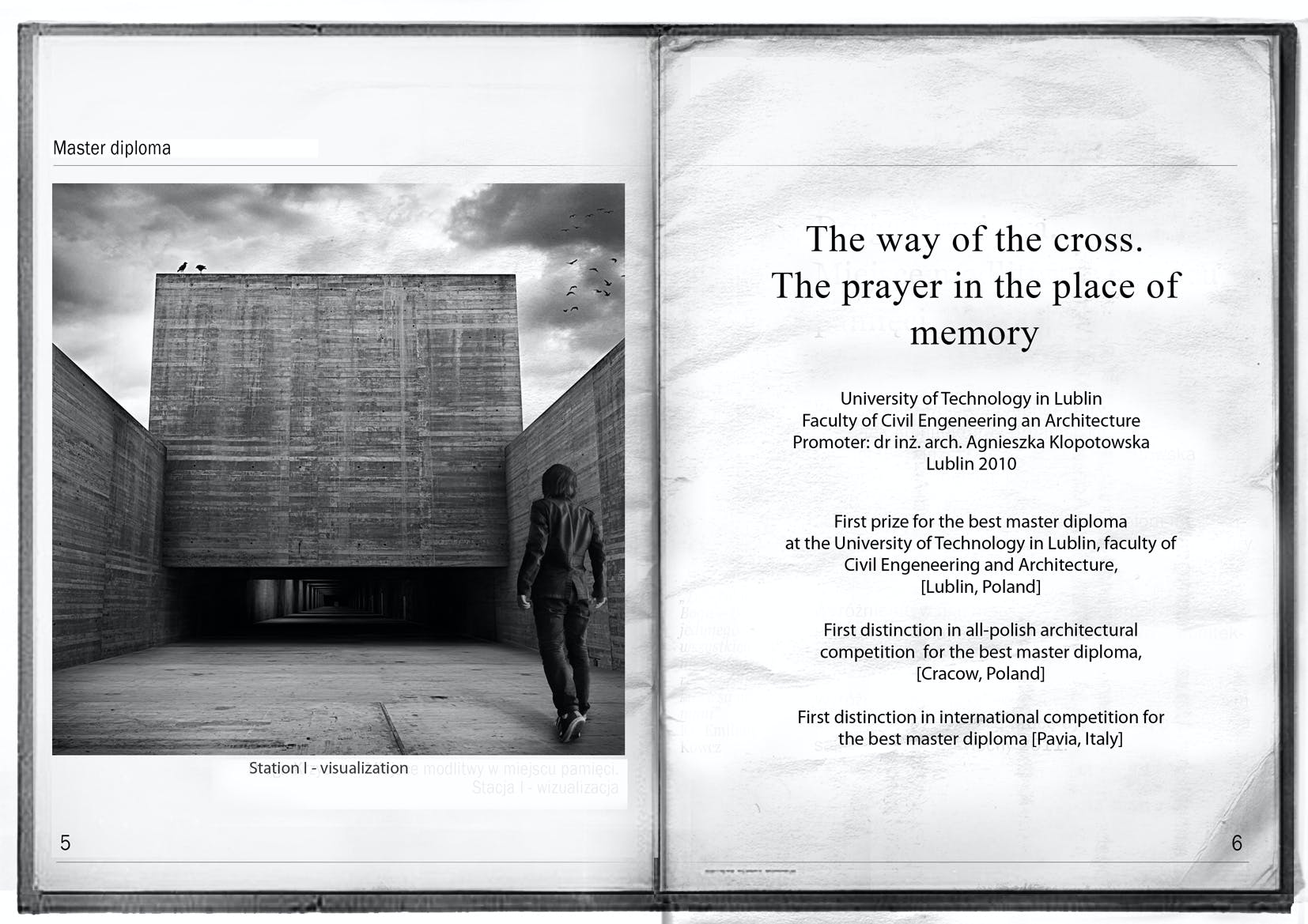 master diploma the way of the cross adam spychala archinect 6 more images ↓