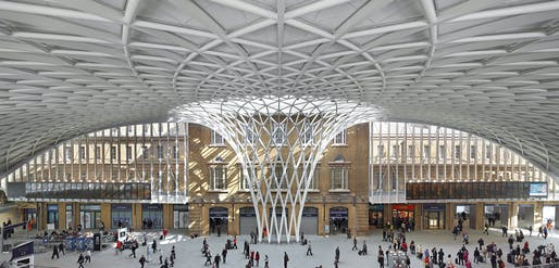 London: Kings Cross Station Redevelopment by John McAslan + Partners. Photo: Hufton + Crow
