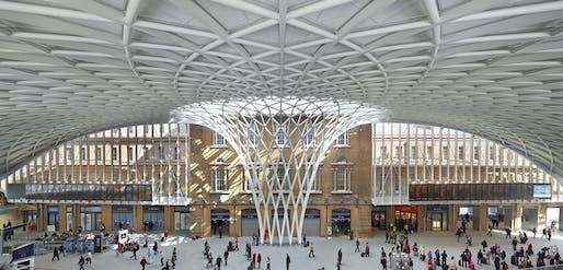 London: Kings Cross Station Redevelopment by John McAslan + Partners. Photo: Hufton + Crow