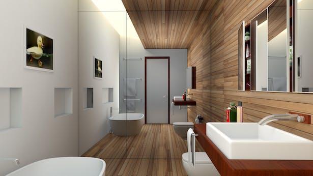 Bathroom Interior, 3ds Max 2012 & Mental Ray