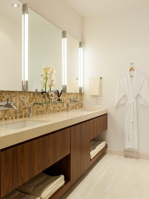 Master Bathroom - Custom Double Vanity