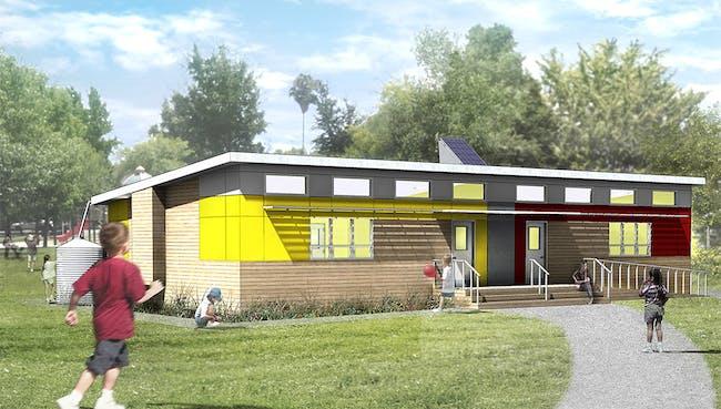 2013 Award Winner: SAGE: Affordable Green Modular Classrooms