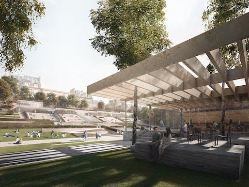 © Malcolm Reading Consultants / Reiulf Ramstad Arkitekter / Forbes Massie Studio