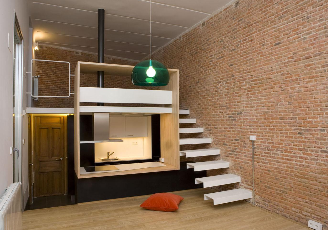 Loft Andrs Borrego Madrid Spain BeriotBernardini arquitectos