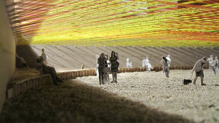 'Weaving the Courtyard,' the winning YAP 2016 proposal. Escobedo Soliz Studio.