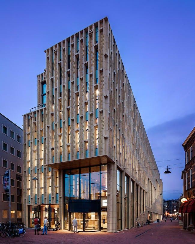 Rozet, Culture House in Arnhem, The Netherlands by Neutelings Riedijk Architects. photo: Scagliola Brakkee
