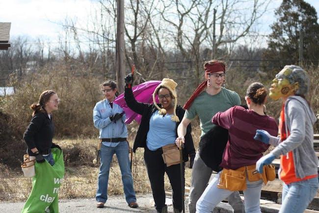 Our dance break- every design/buildLAB student needs a little fun!