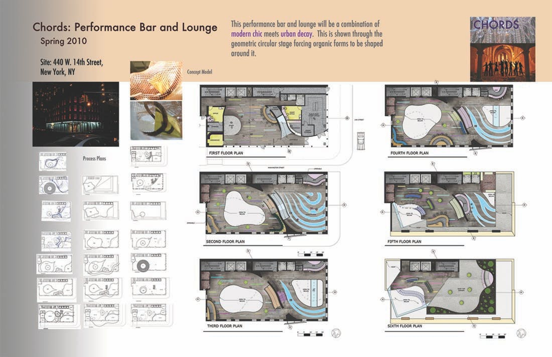 Chords: Performance Bar and Lounge | Sara Brown | Archinect