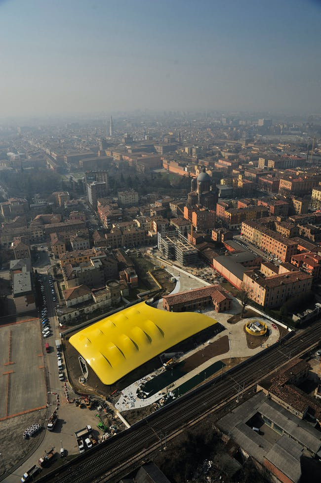 European Union: Enzo Ferrari Museum, Modena, Italy by Shiro Studio (Photo: Cento)