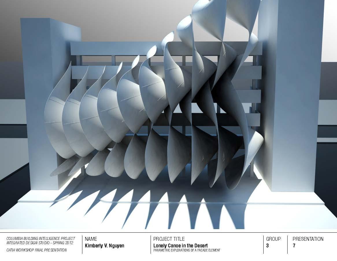 facade element  catia