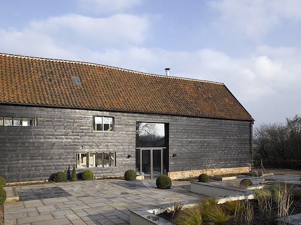 Chantry Farm Barn Exterior