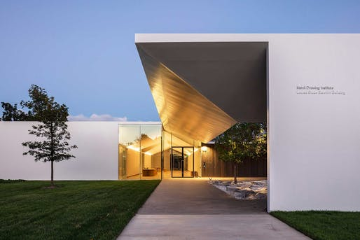 Menil Drawing Institute in Houston, TX by Johnston Marklee. Photo: Richard Barnes.
