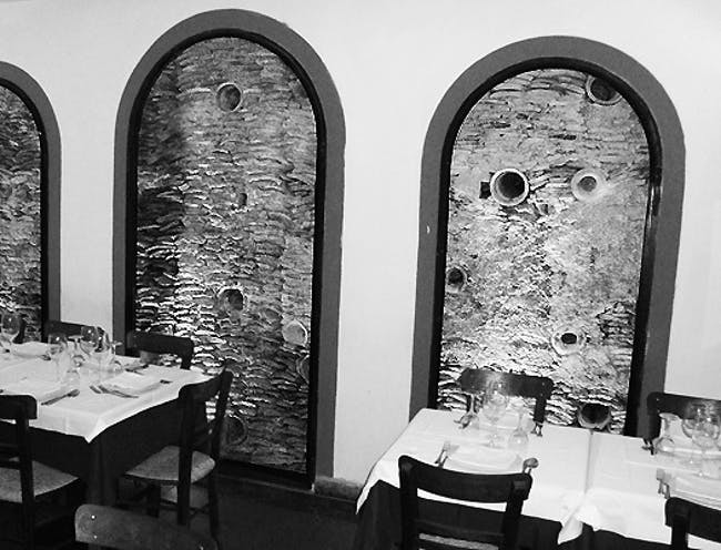 restaurant Flavio al Velavevodetto, Testaccio district, Rome Photo by Michael Ezban
