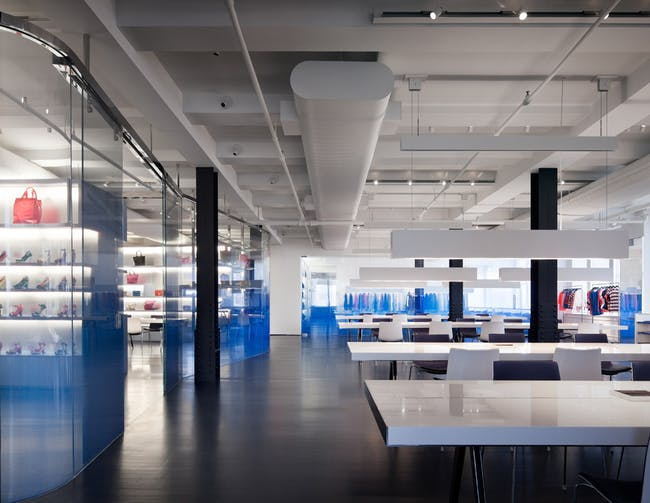 Interiors Merit Award Winner: Marc by Marc Jacobs Showroom in New York, NY by Jaklitsch / Gardner Architects (Image Credit: Scott Frances)