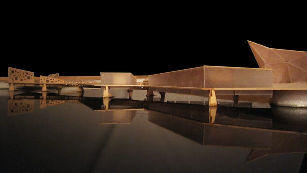Urbanized Bridge 1-Hand Made-24'x 48'