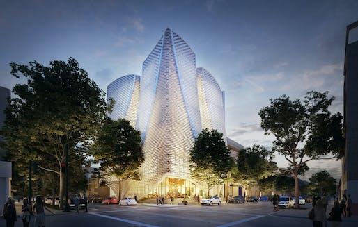 NEXT LA AWARD - MERIT: Belzberg Architects, Apertures Mexico City, Mexico.