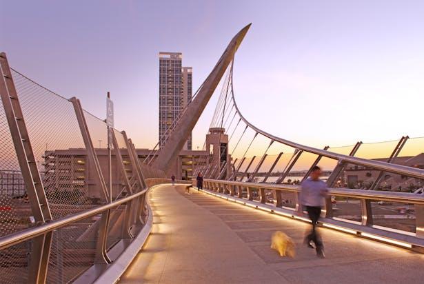 Harbor Drive Pedestrian Bridge | Safdie Rabines Architects
