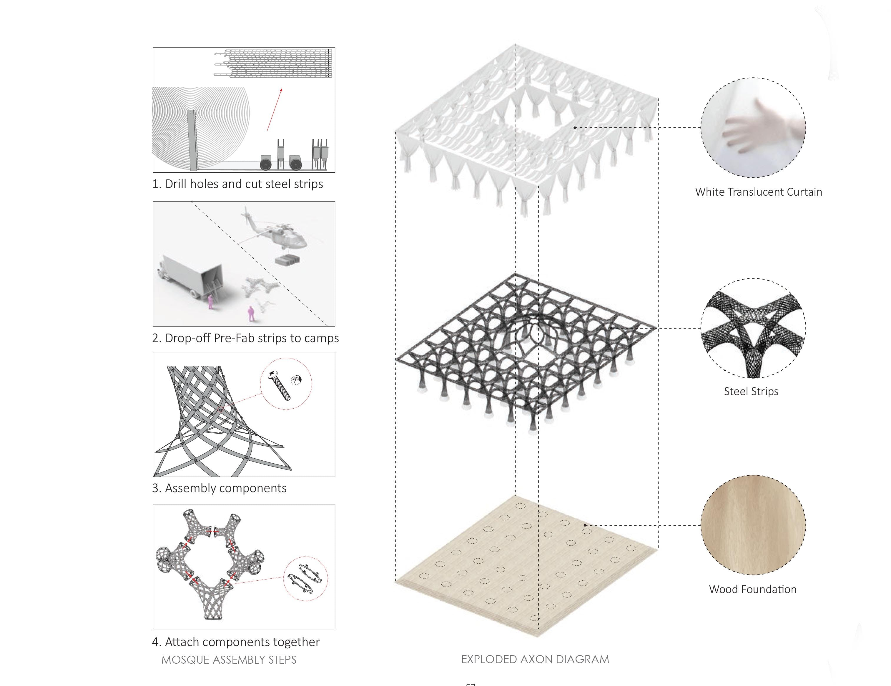 Diamosque antistatics architecture design archinect pre fabrication of the diamosqueantistatics architecture pooptronica