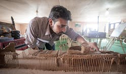 To preserve cultural memory, these Syrian refugees recreate lost monuments in miniature