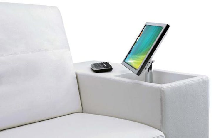 Artanova's 'Athena,' a so-called smart-couch with embedded technology.