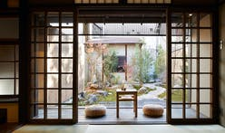 Blending Japanese traditional and modern architecture, this Kyoto guest house is a quiet stunner