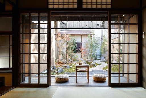 Blending Japanese traditional and modern architecture, this Kyoto ...