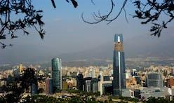 Chilean Skyscraper Overshadows The City