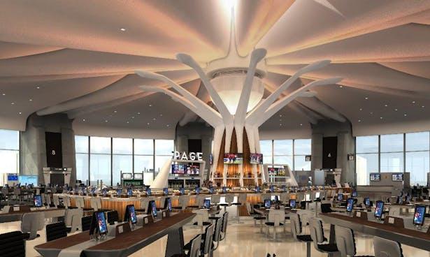 Island bar/restaurant
