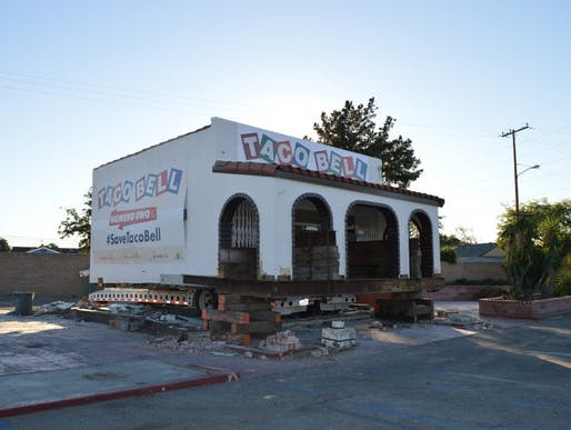 The world's first Taco Bell is being moved to Irvine (photo via Los Angeles Magazine)