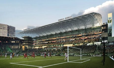 Providence Park Stadium Expansion Allied Works Architecture