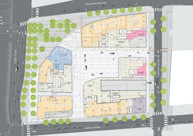 Ground Floor Plan © Hariri Pontarini Architects