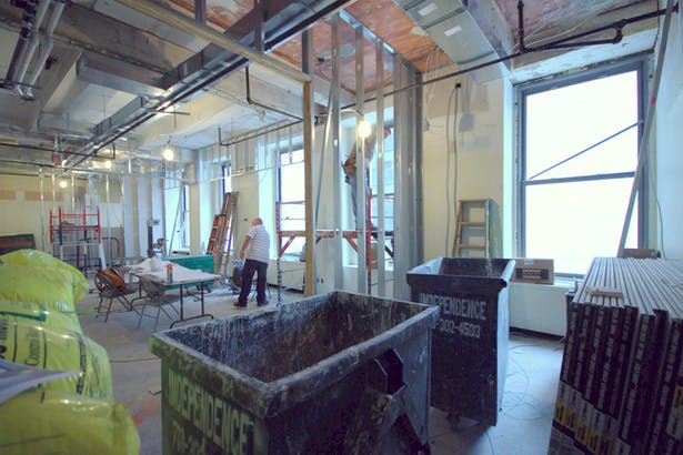 Executive Office View - Construction