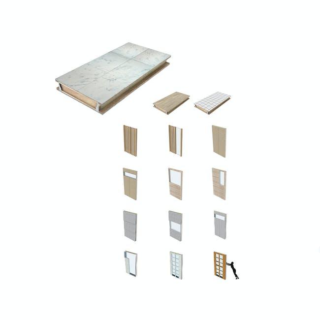 Prefabrication Panels. Image courtesy of diji-lab.