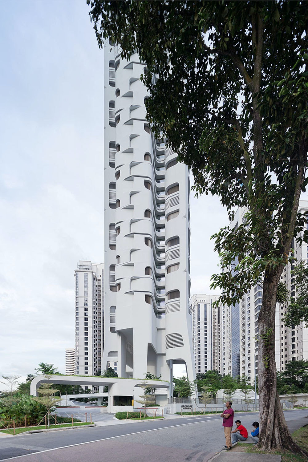 UNStudio completes Ardmore Residence tower in Singapore