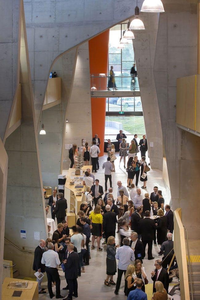 Abedian School of Architecture building - CRAB Studio