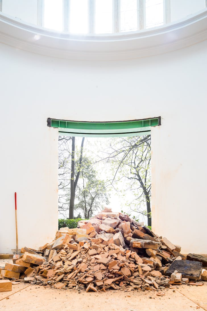 'Making Heimat. Germany, Arrival Country' pavilion. Photo © Felix Torkar courtesy La Biennale di Venezia.