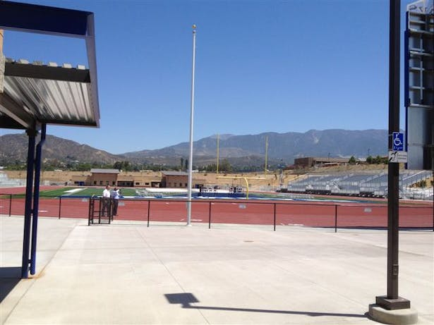 Field View of BHS New Athletic Complex