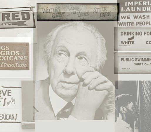 Where Was Jim Crow? Living in Frank Lloyd Wright's America