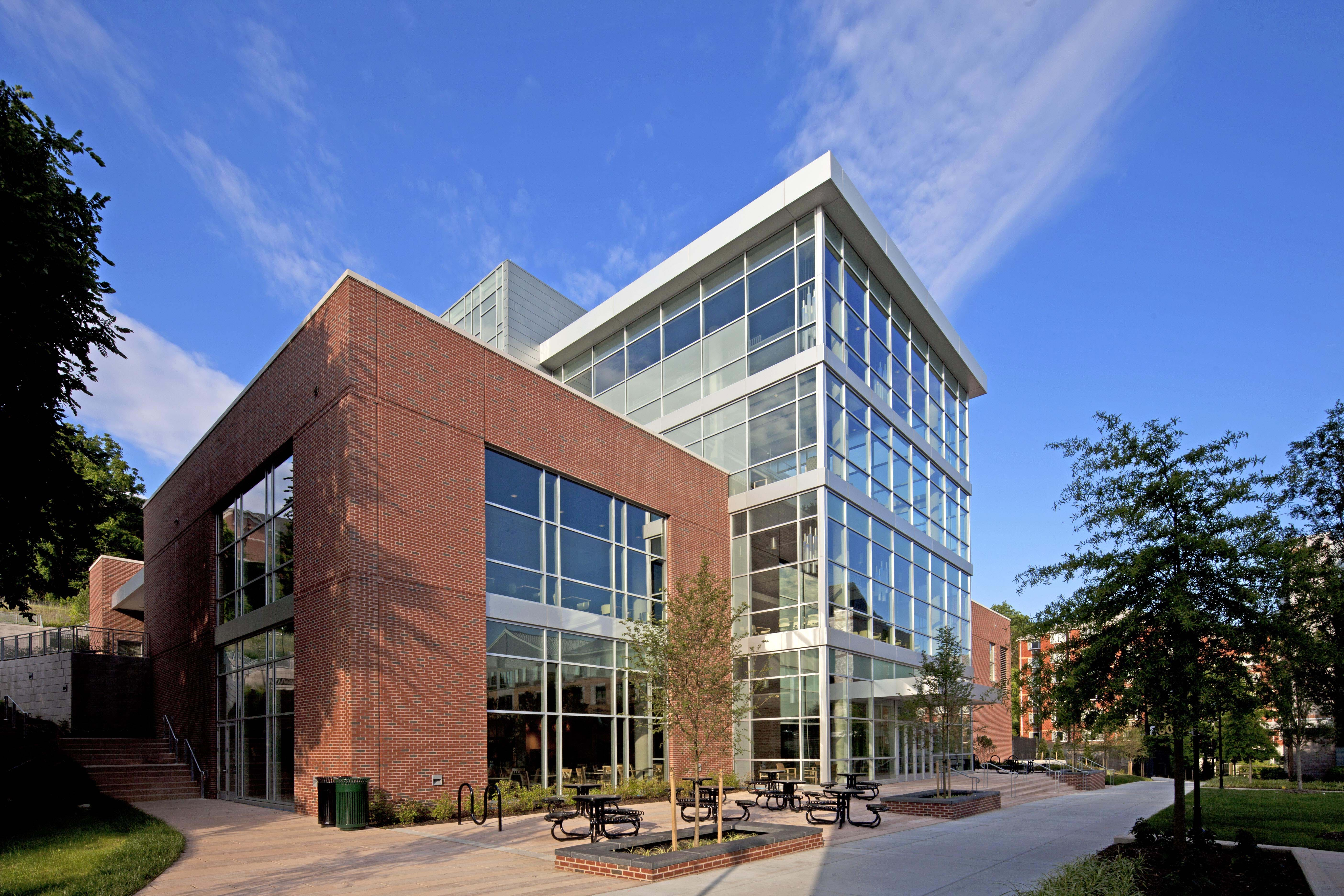Towson University West Village Commons Alan Reed Archinect