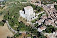 "Restoration works of an historical building (eleventh century) ""Fanelli Castle"""
