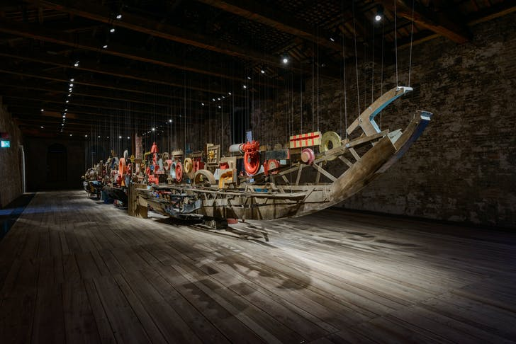 Turkey's 'Darzanà: Two Arsenals, One Vessel', photo by Andrea Avezzù, courtesy La Biennale di Venezia