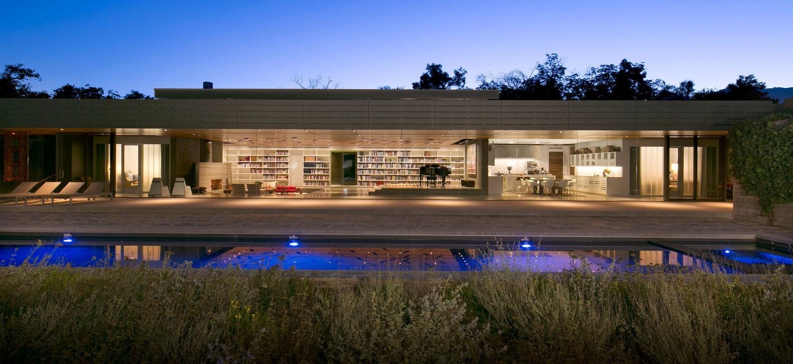 Wall House Ojai CA by Johnson Fain