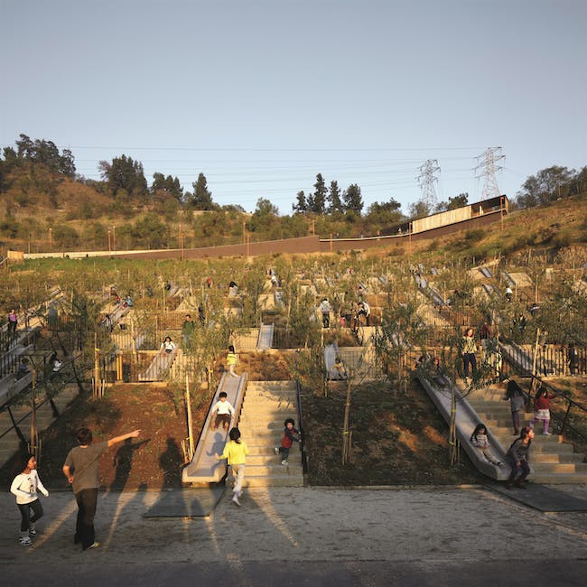 Bicentennial Children's Park, 2012, Santiago, Chile. Photo by Cristobal Palma. Courtesy of ELEMENTAL.