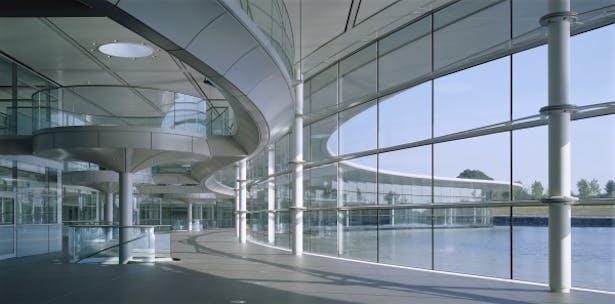 McLaren Technology Centre | Foster + Partners | Archinect