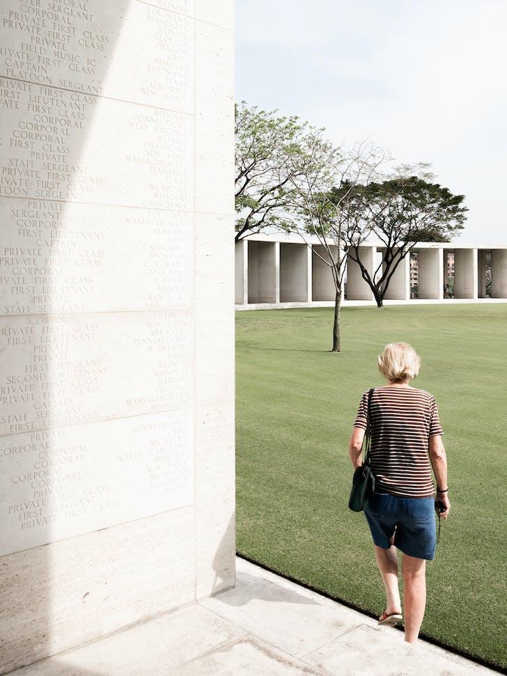 American Cemetery, Manila by Gardener A. Dailey