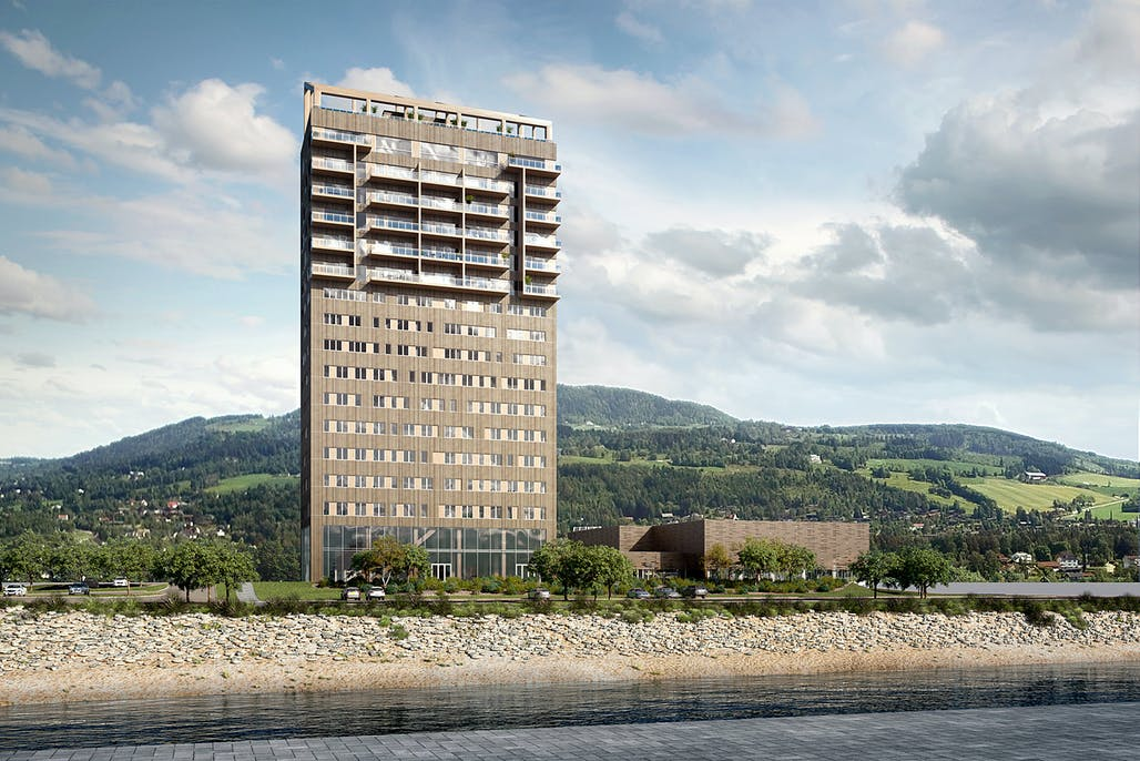 The world's tallest wooden tower is being built in Norway | News